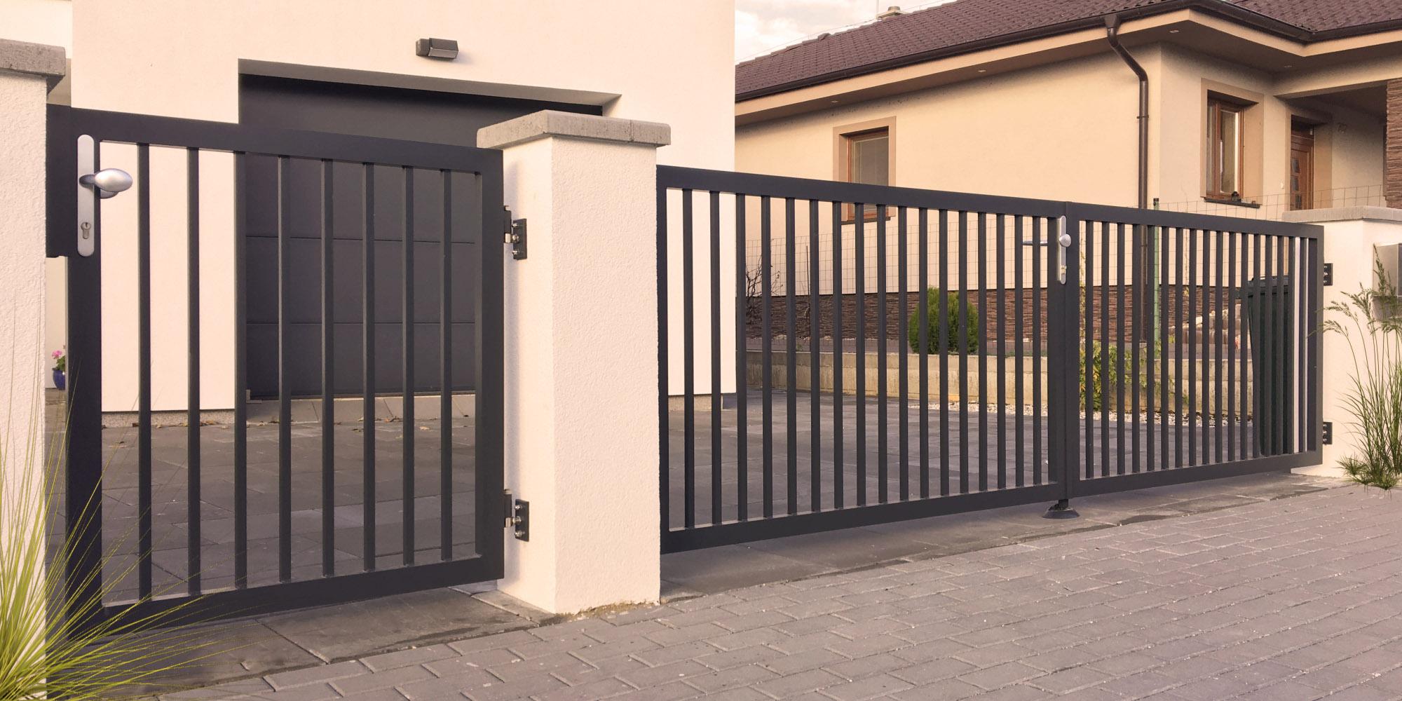 Hliníkový plot Lyon od výrobcu ELMAR