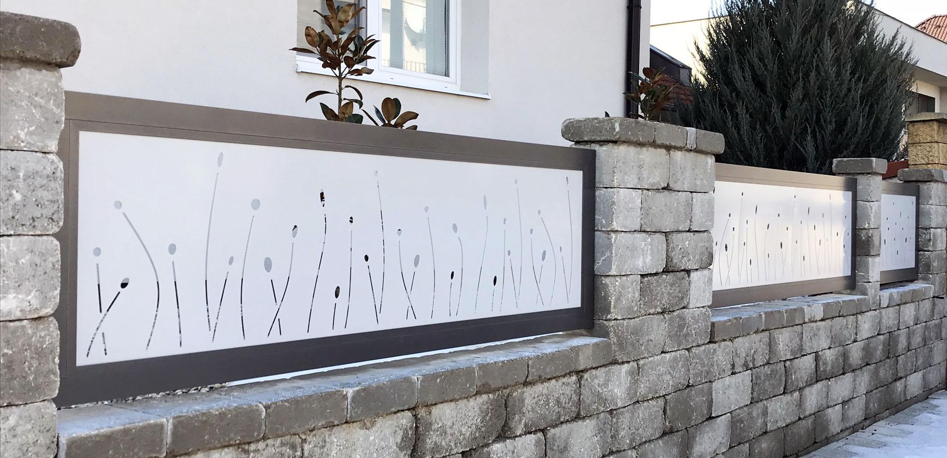 Hliníkový plot Malaga od výrobcu ELMAR
