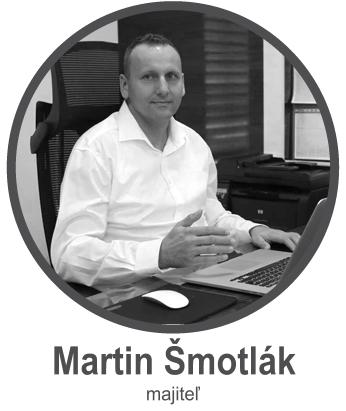 Majiteľ ELMAR, s.r.o. - Martin Šmotlák